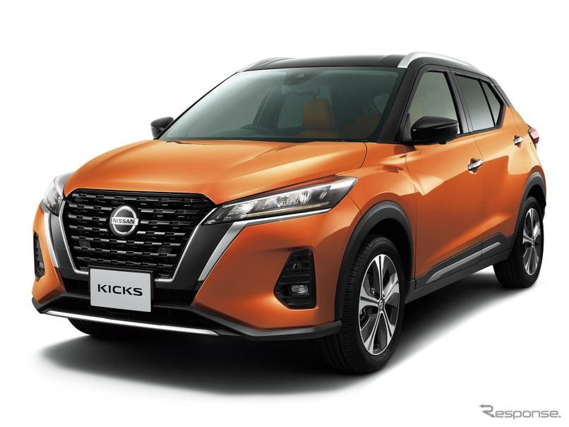 日産、新型SUV「キックス」を発表