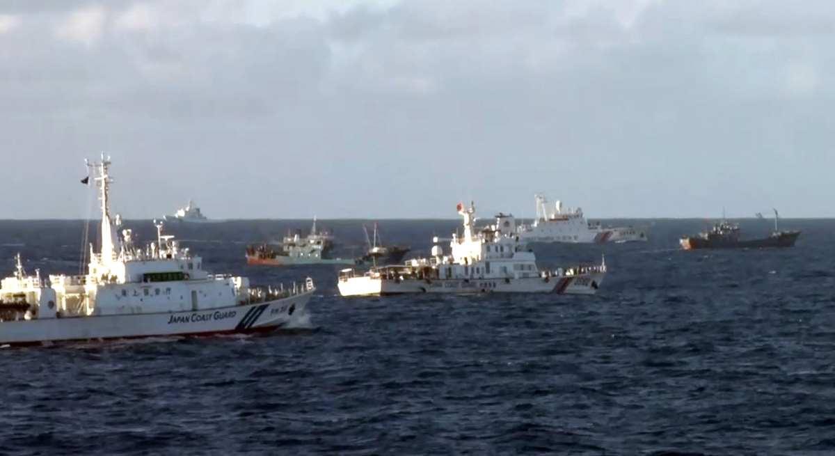 【領土領海】中国VS日本が数日間の内に軍事衝突が起きる可能性
