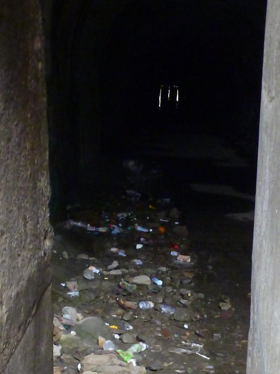 現在の旧犬鳴トンネルマジ怖ぇ〜