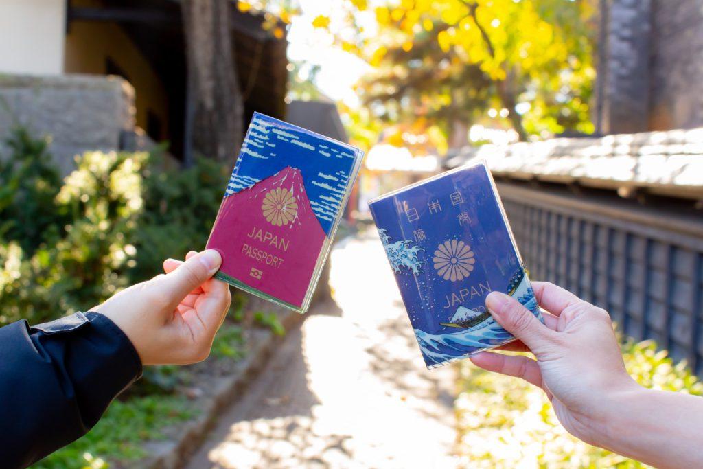 2月から新しいパスポートのデザインが変更。カッコええや〜んと話題になる