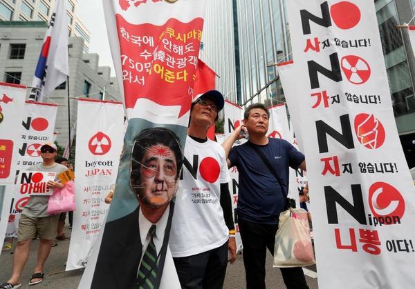 日本製品不買運動1年、日本経済ピンチと韓国喜ぶ