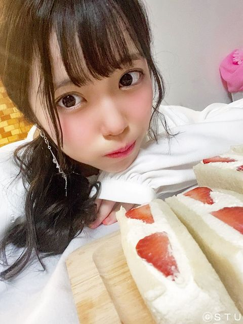 STU48『岩田陽菜』赤ちゃん化してしまう